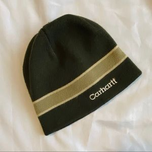 Men's Green Carhartt Beanie
